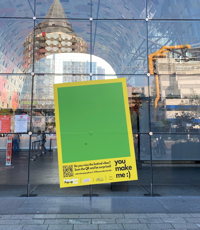 Rotterdam Pop-up Fest Polaroid